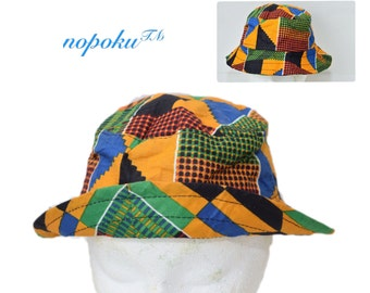 Kente bucket hat  97e895ee133