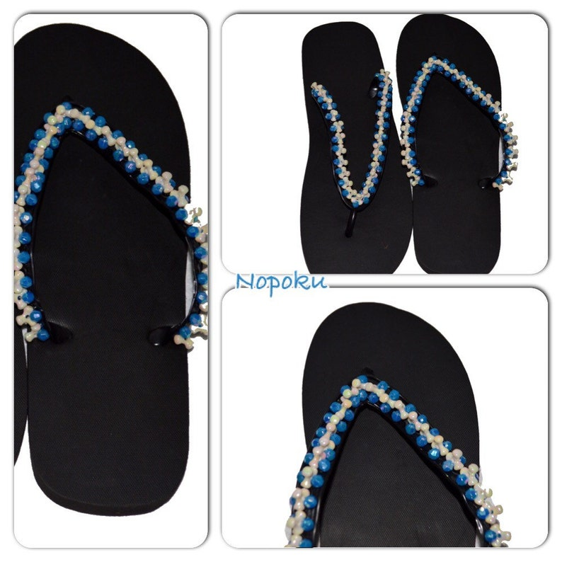 African Slippers, Flipflops,White Beaded Slippers, Anfrican Shoes, Flats, Bohemian footwear,Ladies Sandals,African shop,Gift,Women's sandals