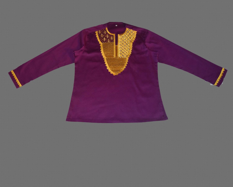 Ankara Embroidery Mens Shirtmens Embroidery Shirts Etsy