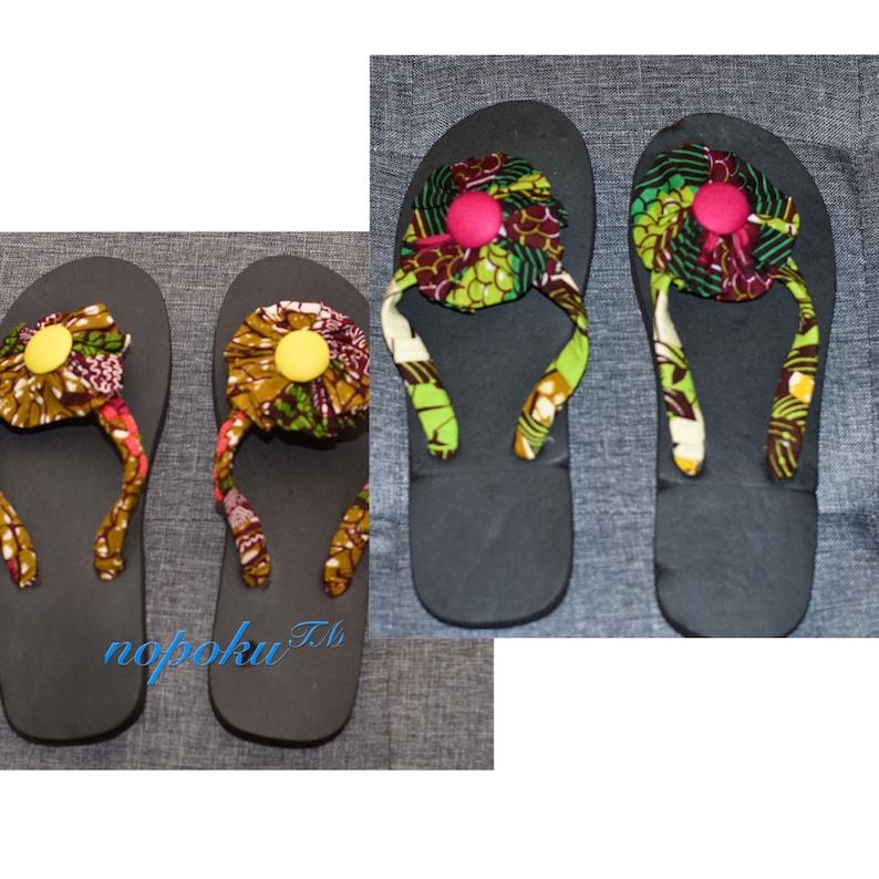09ef981f3d4fac African SlippersFlipflopsAnkara Slippers Artisan slippers