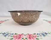 Pyrex Forever Yours Clear Brown Mixing Bowl 323