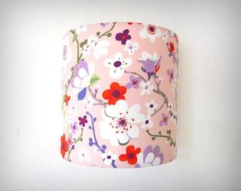 Applique murale japonisante fleurs de cerisier 20cm