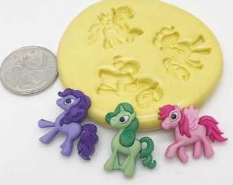 My Little Pony Mold Set silicone   a28