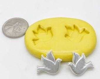 Dove Bird Silicone Mold Silicone