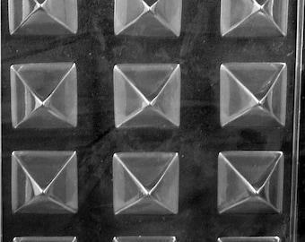 Small Pyramid Chocolate Mold #327