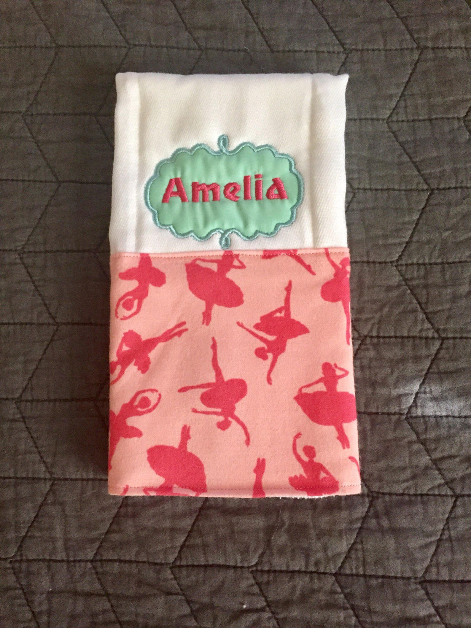 ballerina burp cloths tutu burp cloth ballet shoes burp cloth dance burp cloths butp cloth set girls burp cloths ballet burp clo
