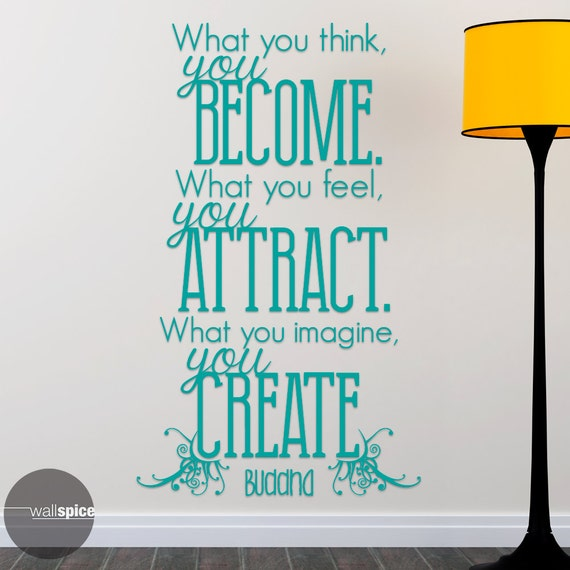 you attract what you think