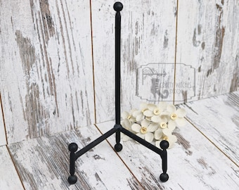 Black Metal Stand, Sign Stand Add On