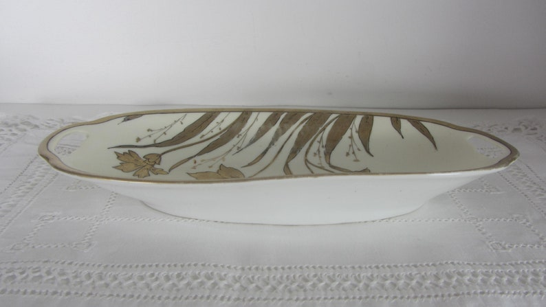 Porcelain Candy dish Small serving plate Porcelain celery dish Prussia