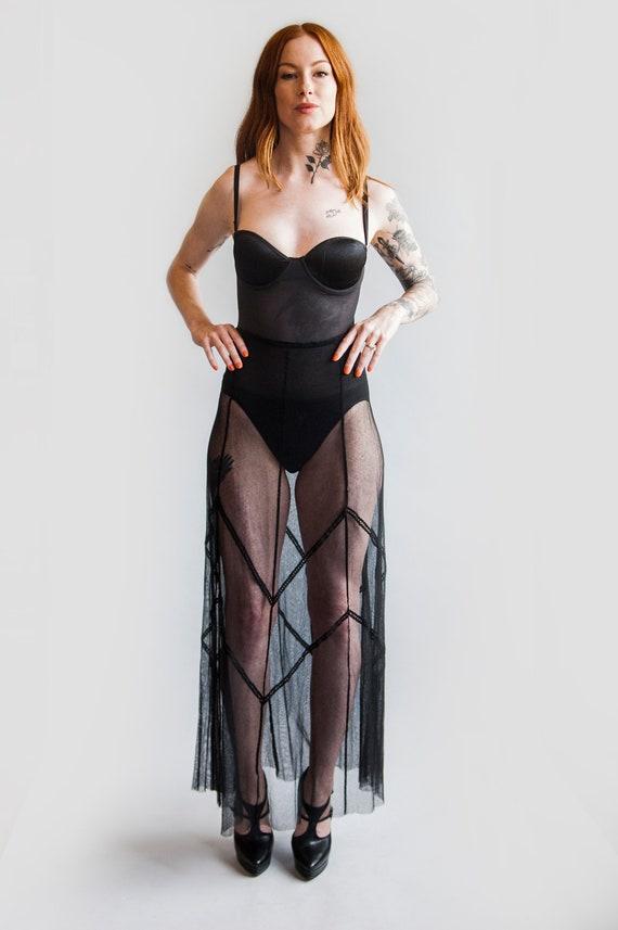 Plein Sud Sheer Skirt