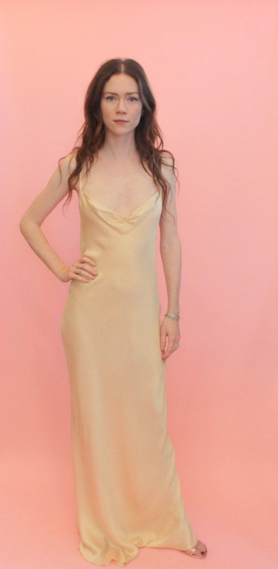 Jane Booke Silk Slip Dress