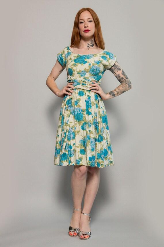 1950's Floral Dress