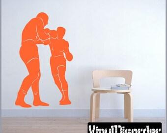 Boxing Vinyl Wall Decal or Car Sticker  - BoxingMC005ET
