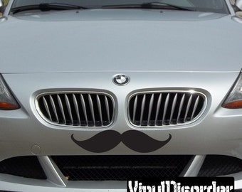 Mustache Vinyl Wall Decal Or Car Sticker - Mvd005ET