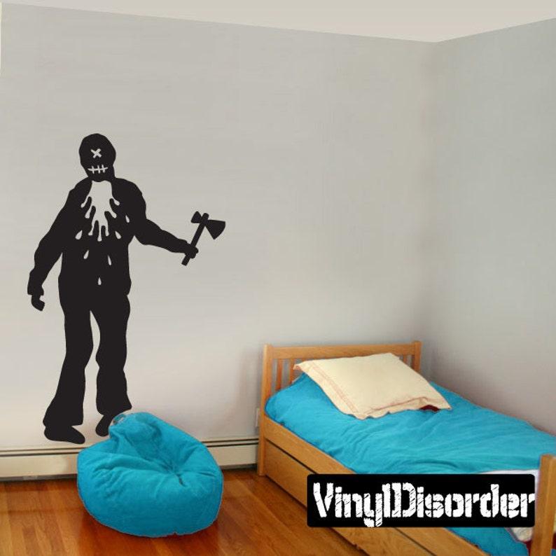 Zombie Vinyl Wall Decal Or Car Sticker Mv017ET