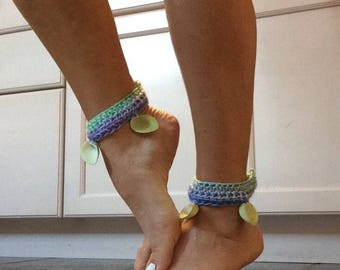 Shell ankle cuffs