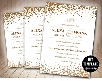 template for wedding invitations