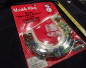 1960 39 s Marble King unopened-sealed on card-machine made marbles