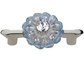 3 Inch Drawer Pull Swarovski Crystal Handle Unique 3 quot Decorative Aqua Nickel Kitchen Cabinet Pull Glass Art Deco Cupboard Door Pulls Dresser