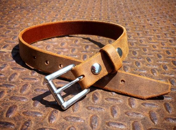 En cuir ceinture ceinture pour enfants 1 pouce ceinture   Etsy 6b57f75eed2