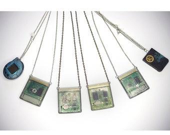 Cyberpunk Cartridge Necklace