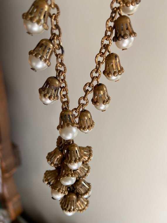 1930s Rare Cluster Necklace