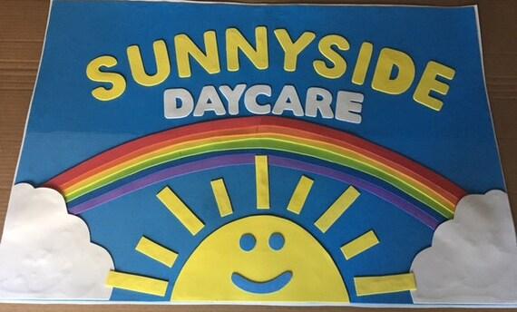 toy story sunnyside daycare sign etsy