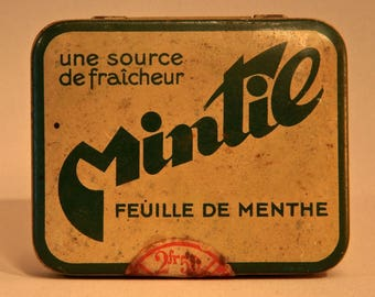 ANTIQUE FRENCH TIN