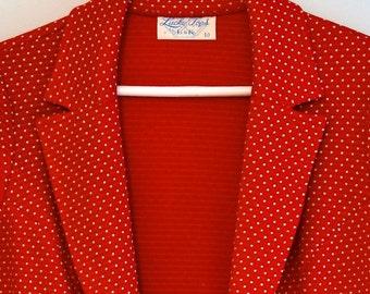 70's LUCKY TOPS Women's Blazer