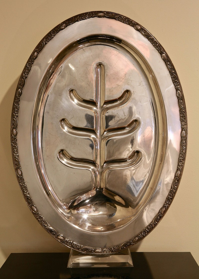 Silver Plated MEAT PLATTER
