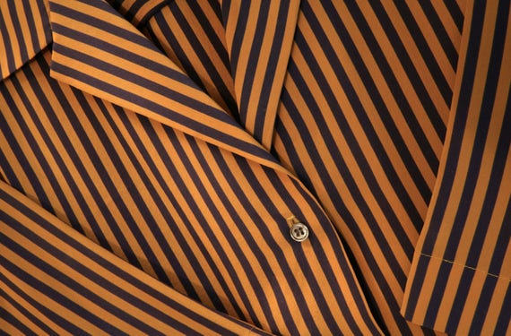 Vintage Short Sleeve Blouse - PERRY ELLIS