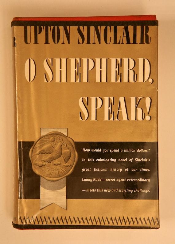 O Shepherd Speak By Upton Sinclair Etsy