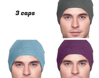d657f4f33c1 3 Cancer Hats - Men s Chemo Cap