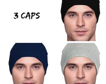 3 Cancer Hats - Men s Chemo Cap 990d062a914
