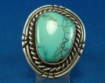 Weighs 71.1 grams Beautiful Vintage Sterling Silver Navajo Mud Head Bracelet