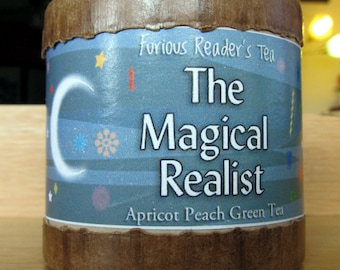 Magical Realist Green Apricot Peach Reader's Tea