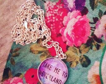 Neverland necklace