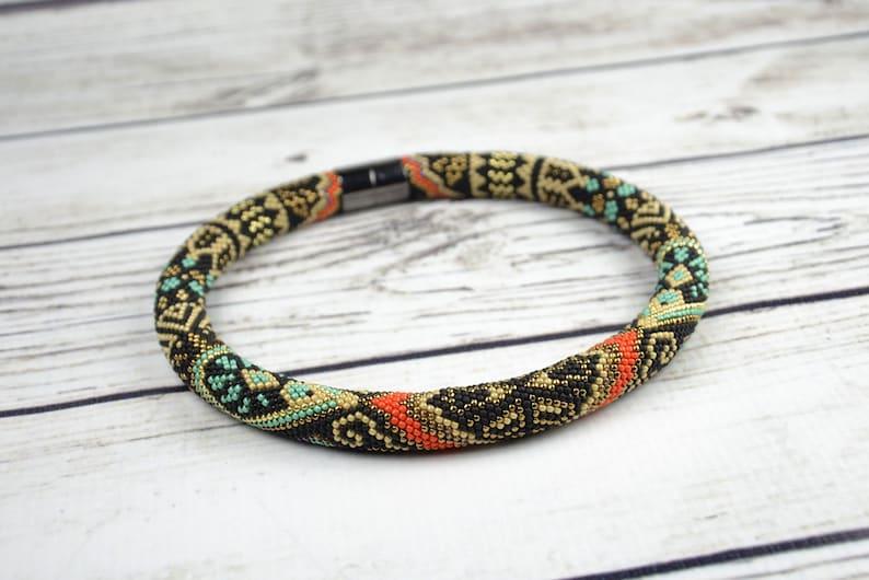 Tribal Necklace Ethnic Necklace Boho Necklace Ethnic jewelry image 0
