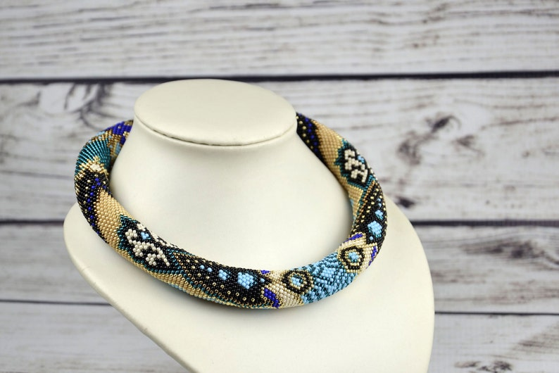 Boho jewelry Unique necklace for women big necklace bold necklace chunky necklace statement birthday gifts for her original gift for wife