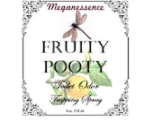 Fruity Pooty Toilet Odor Trapping Spray-Our Version of quot Poo Pourri quot