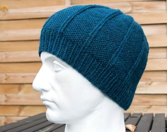 f70a4d6bfbc Mens Knit Alpaca Wool Hat