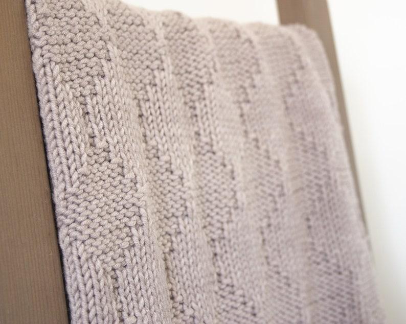 Harlequin Baby Blanket Knitting Kit DIY Organic Merino ...