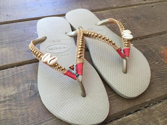 2be83424a1a2 Wanderlust Wedding Sandals Wedding Flip Flops Wedding