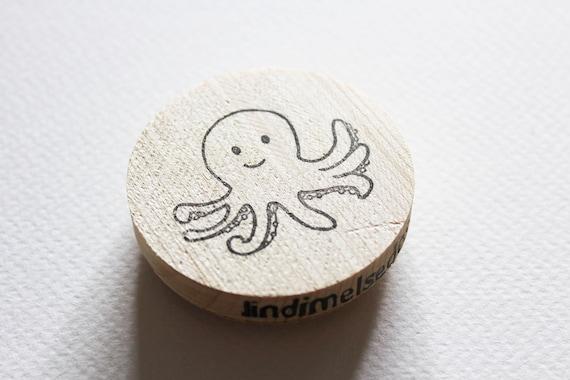 Octopus Stamp Sealife Sea Animals