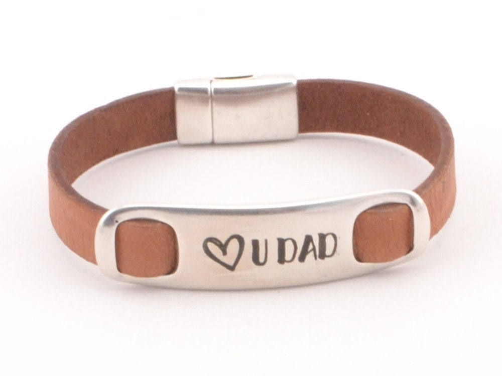 Ich liebe Papa personalisierten Schmuck für Papa graviert | Etsy