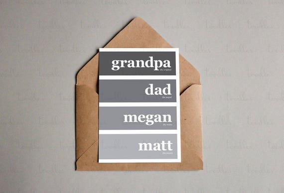 Editable Printable Card Grandpa Birthday Grandfather Etsy