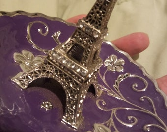Eiffel Tower Paris Jewelry Ring Dish