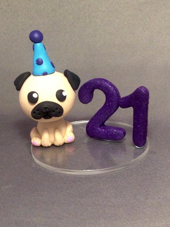 Prime Pug Cake Topper Birthday Cake Topper Dog Topper Birthday Etsy Funny Birthday Cards Online Bapapcheapnameinfo