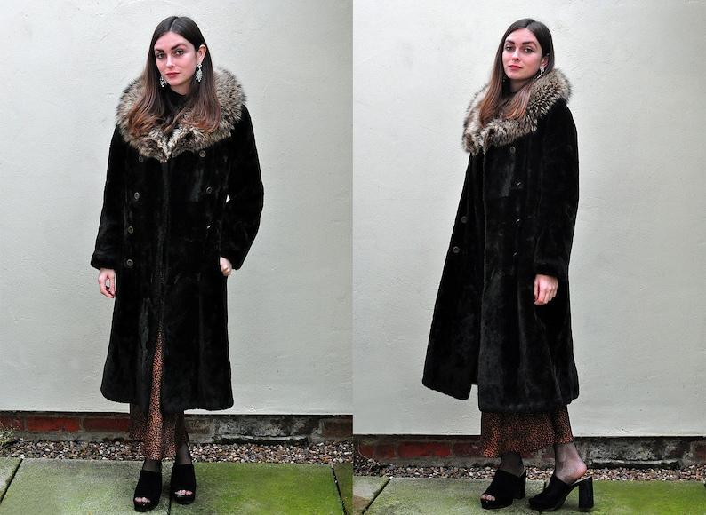 Longline Teddy Faux Fur Coat   Topshop