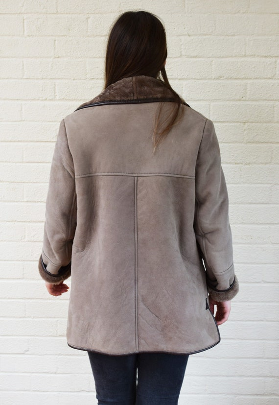 Vintage Sheepskin / Shearling Coat - image 6